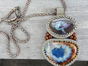 One of a Kind Artisan Pendant