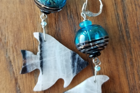 Angelfish Earrings