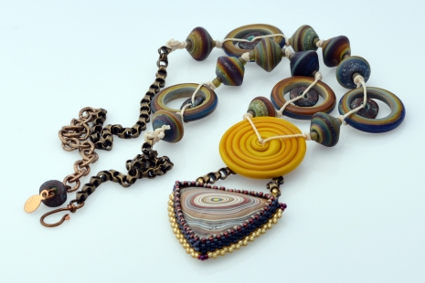 Artisan Lampwork necklace
