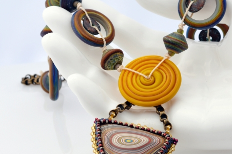Fordite necklace