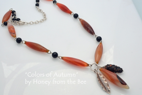 Artisan Autumn Necklace