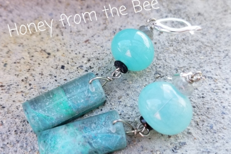 Aqua Artisan Earrings