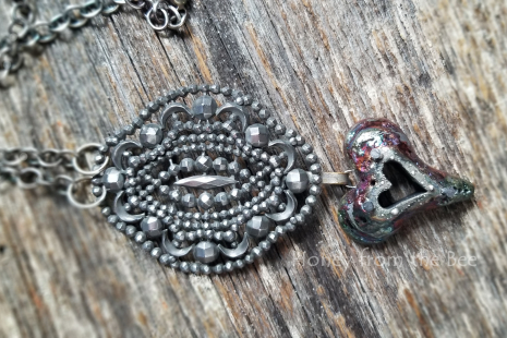 One of a kind heart necklace