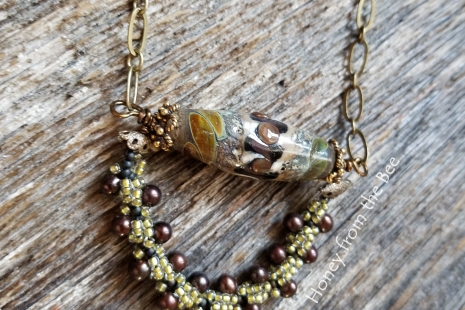 autumn artisan necklace
