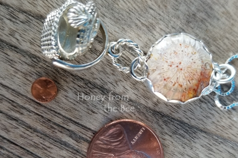 Lucky penny pendant