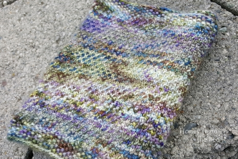 Handknit luxury cowl