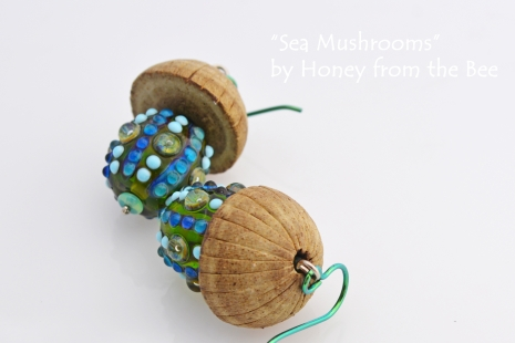 Boho Mushroom earrings