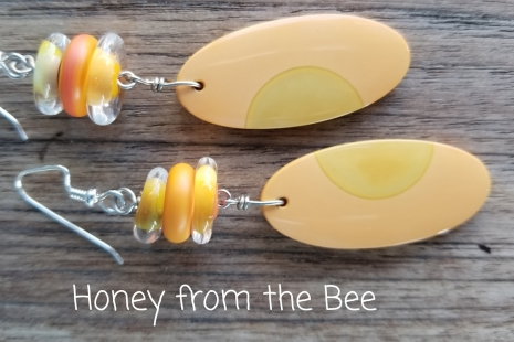 Citrus Dangle earrings