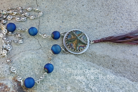 Boho style star necklace