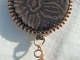 Copper Artisan Necklace, copyright Honey from the Bee