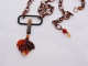 One of a Kind Autumn Necklace, copyright Honey from the Bee