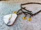 Artisan Necklace featuring nature elements