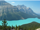 Glacial lake in BC