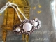 Vintage French marcasite pendant