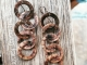 Copper Ring earrings