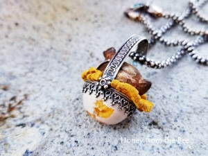 Chicken and Egg pendant