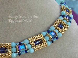 Artisan Necklaces with Seed Beads (SOLD)