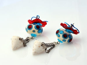 Bold Circus inspired Earrings