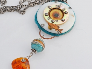 Environment Statement Necklace