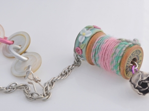 Talisman Necklace for Quilters