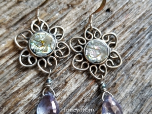 Acapulco - Abalone Earrings