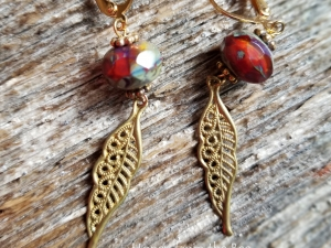 Autumn Sunset earrings