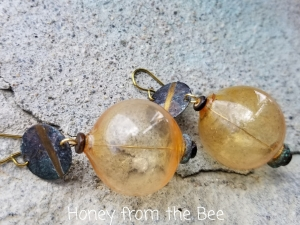 Banana Beach earrings
