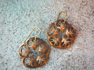 Dried Flowers earrings