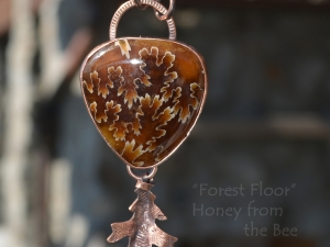 Forest Floor- Ammonite pendant