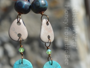 Boho Beach Stone Earrings