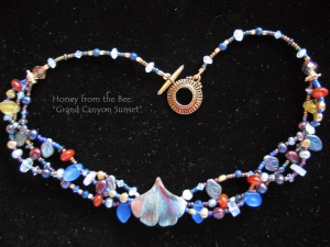 Grand Canyon Sunset necklace