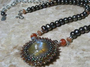 Honeymoon in Provence necklace