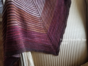 Marionberry Shadow Shawl