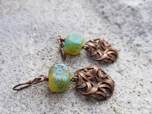 Ocean inspired Earrings