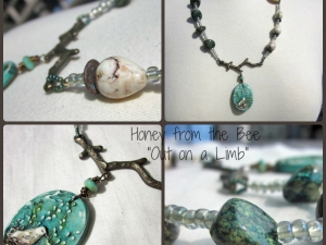 Out on a Limb art necklace