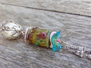 Impressionist Rose Necklace