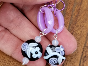 Scent of Lavender earrings
