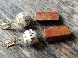 Seasons - statement earrings