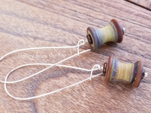 Spools - Quilters' or Sewers' earrings