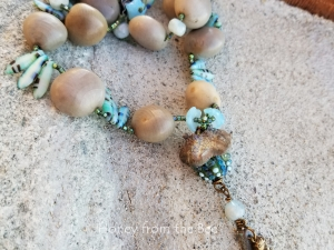 Ocean Inspired Boho Necklace