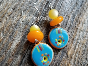 Bold Color Earrings