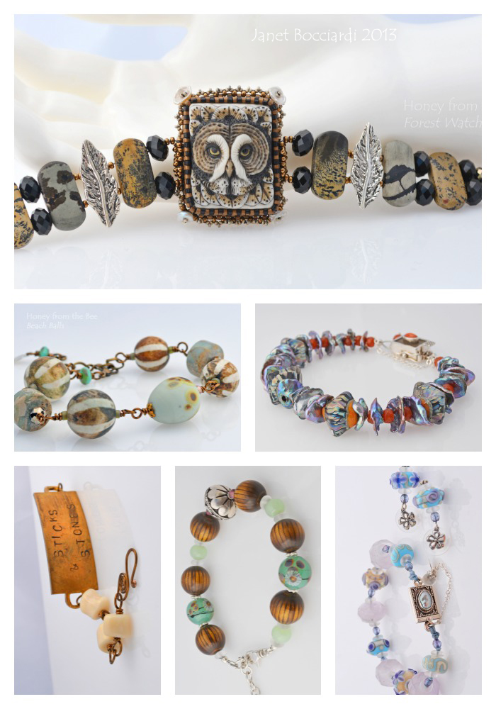 Artisan Bracelets 2013 by Honey from the Bee