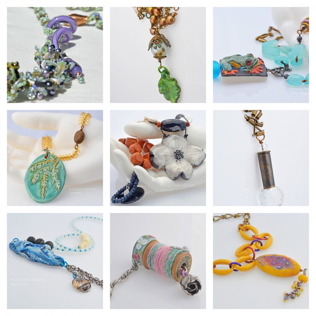 Artisan Necklaces 2013 by Honey from the Bee