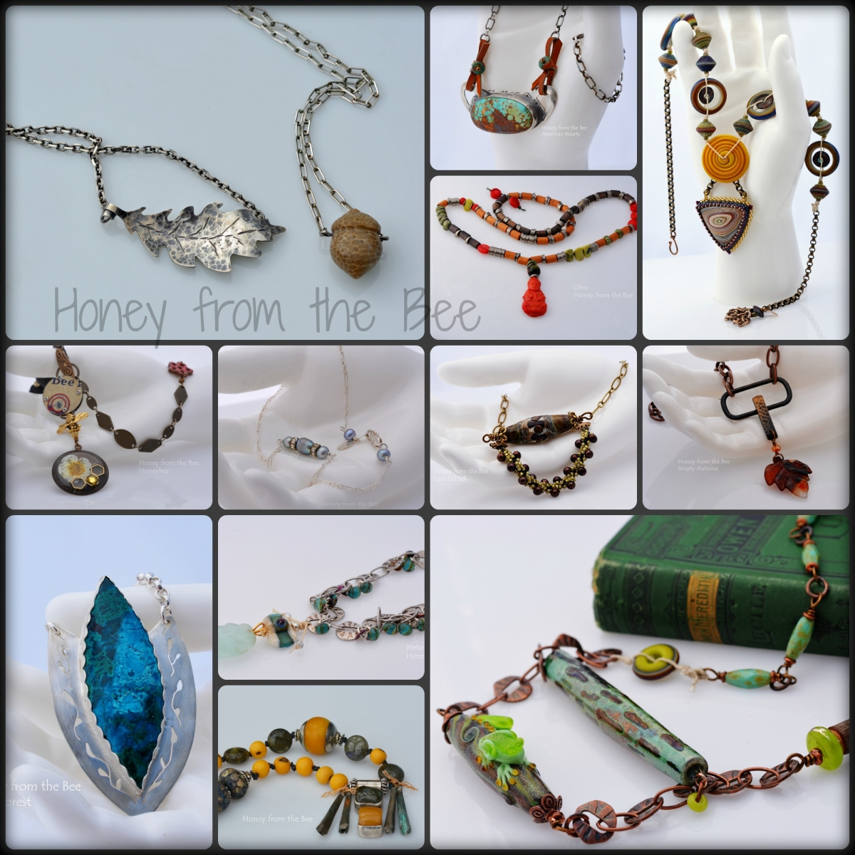Mixed Media Artisan Necklaces