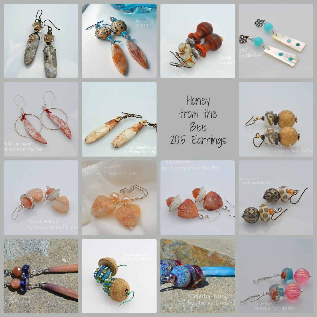 Artisan Earrings by Honey from the Bee