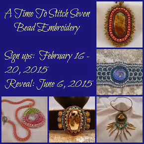 A Time to Stitch Seven:  Bead Embroidery