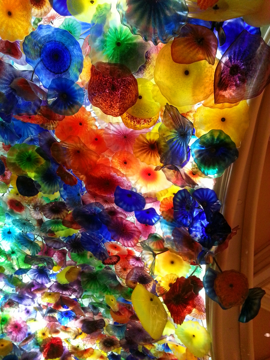 Chihuly glass ceiling, Bellagio, Vegas