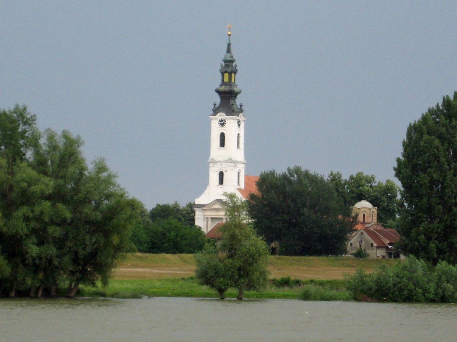 Church between Vukovar and Novi Sad, Serbia