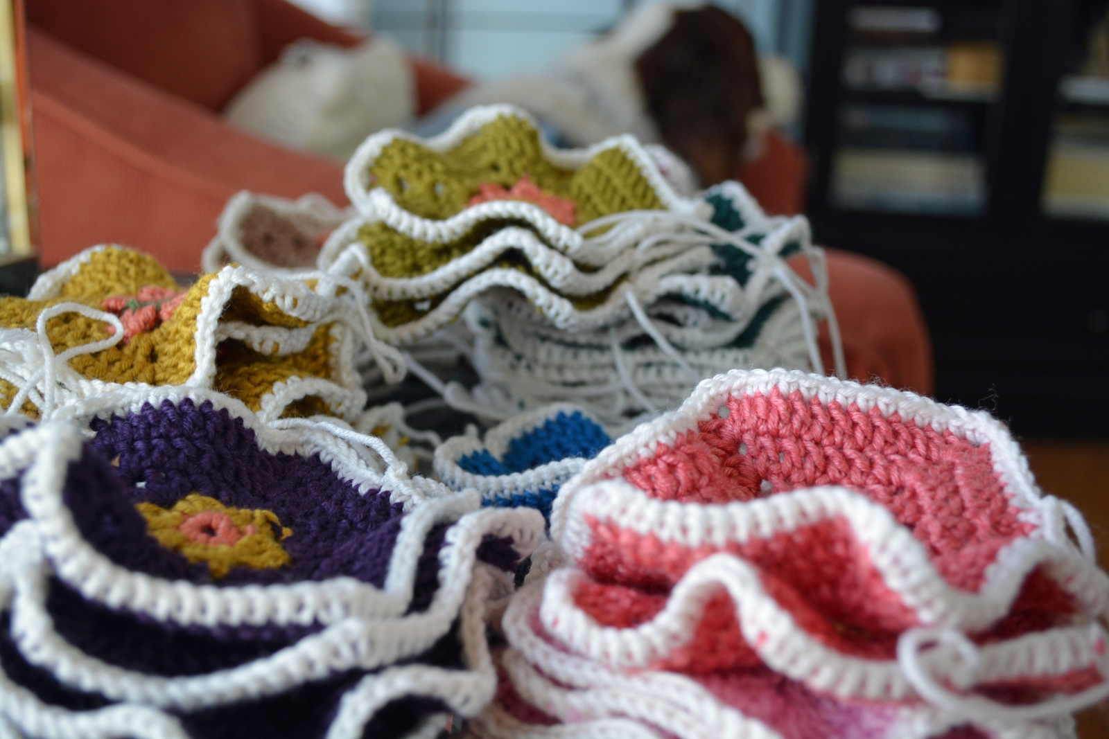 Crocheted Afghan Squares