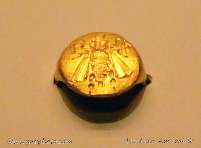 Ephesus bee ring